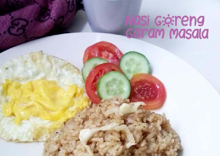 Nasi Goreng with Garam Masala
