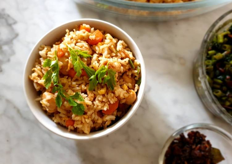 Simple Chicken Fried Rice