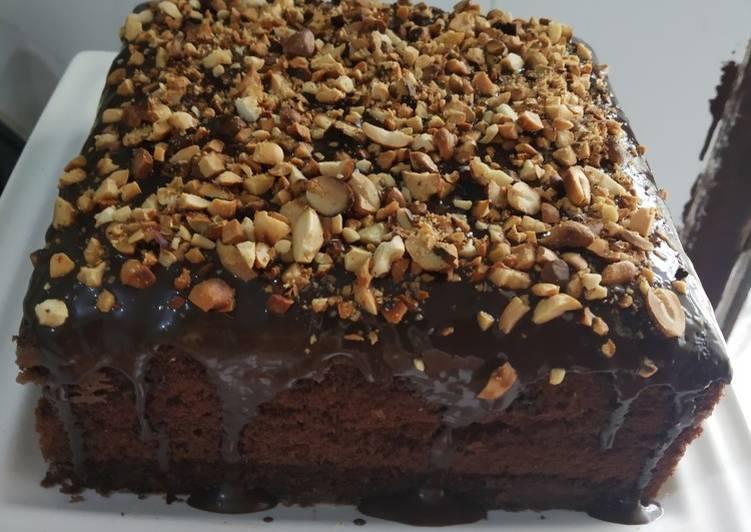 Brownies kukus coklat lembut