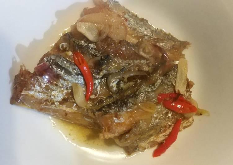 Oseng Ikan Layur Pedas