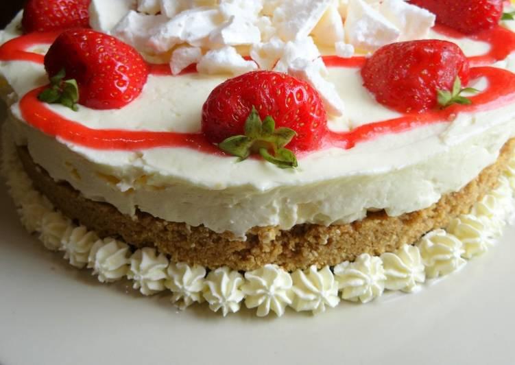 Simple Way to Make Award-winning Eton Mess Cheesecake