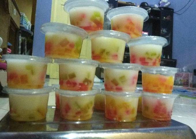 Puding Mozaik Cup - projectfootsteps.org
