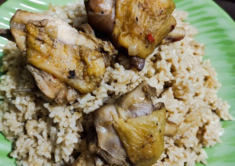 Resep Nasi kebuli ayam kampung irit untuk jualan