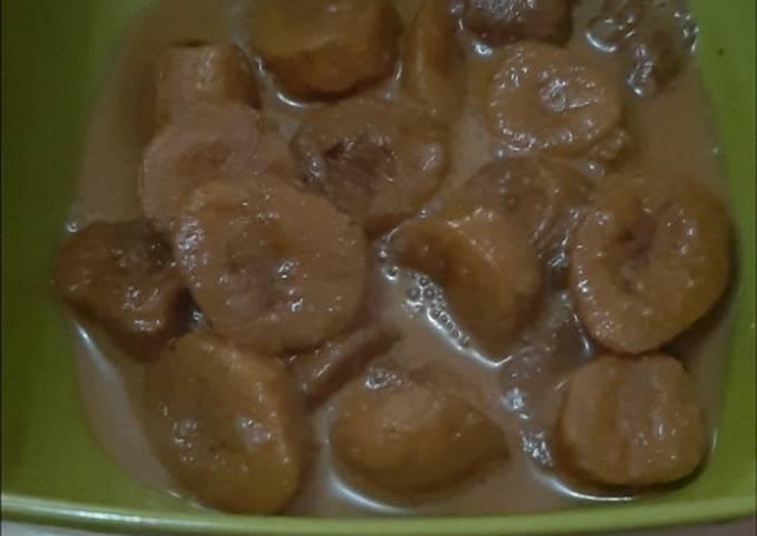 Kolak pisang edisi Ramadhan