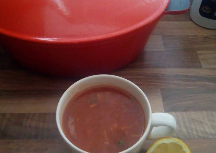 🍅Tomato soup withchickpeas (vegetarian)🍅