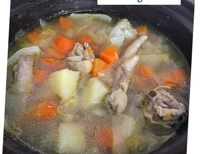 Sop Ayam Sederhana