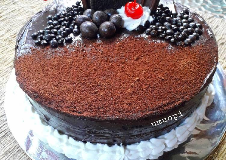 Resep Kue Tart Coklat Bikin Ngiler