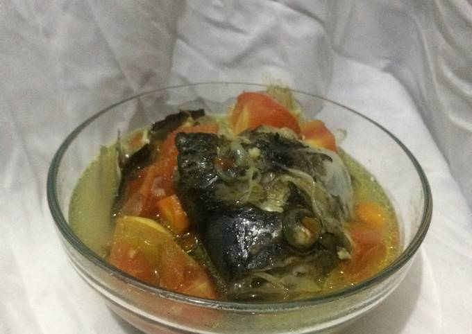 Sup ikan gurame simpel ala fe
