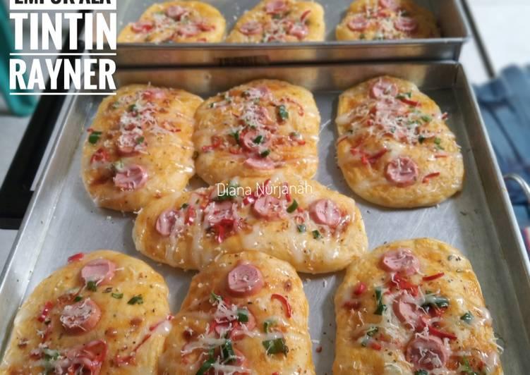 Pizza Mini Simpel Super Empuk Ala Tintin Rayner