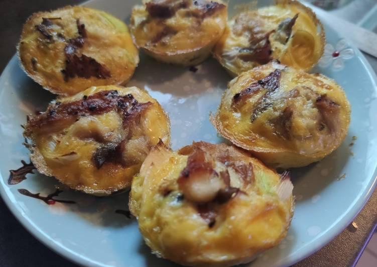 Les Meilleures Recettes de 🌺 Mini omelettes pour brunch ⭐
