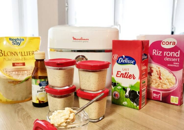 Les 9 Meilleures Recettes de Riz au lait à la vanille