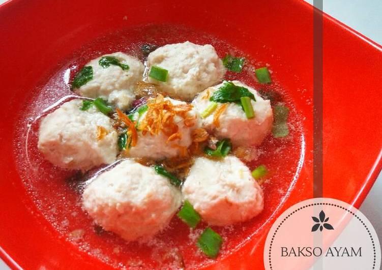 Resep Bakso Daging Ayam
