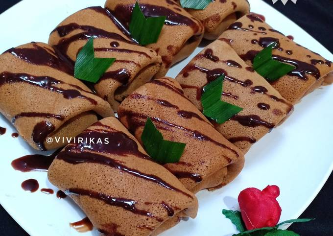 Resep Dadar Gulung Coklat Pisang yang Sempurna