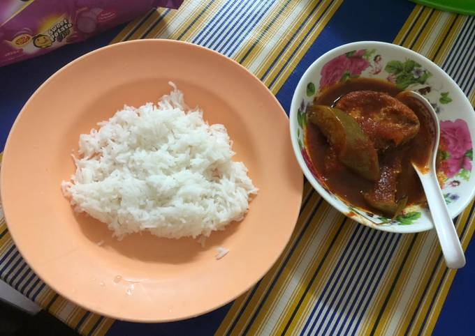 Asam pedas tenggiri by Hanan's kitchen