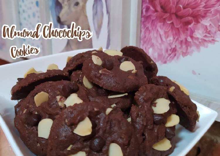 Almond Chocochip Cookies