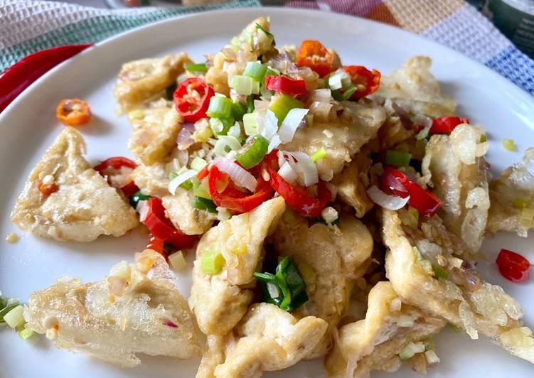 Tahu Cabai Garam | Salt Chili Tofu