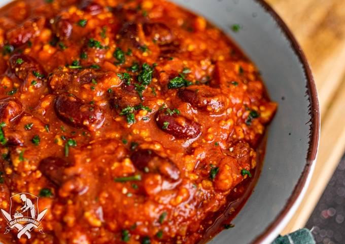 Chili sin Carne (Vegan)