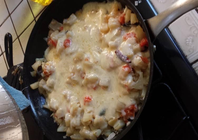 papas chile (potatoes)
