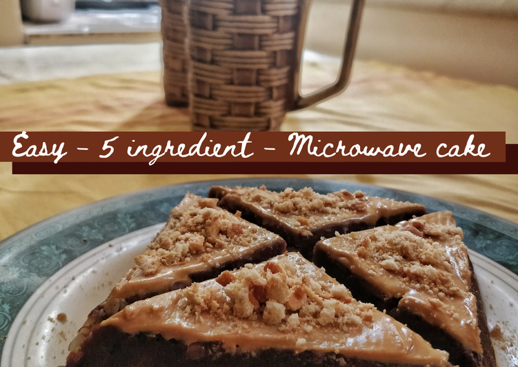 Step-by-Step Guide to Prepare Any-night-of-the-week Easy 5 Ingredient Microwave Cake