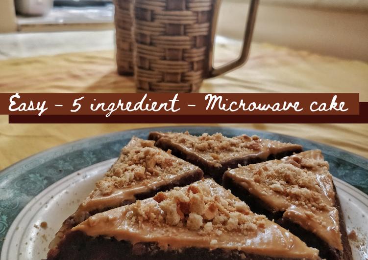 Recipe of Favorite Easy 5 Ingredient Microwave Cake