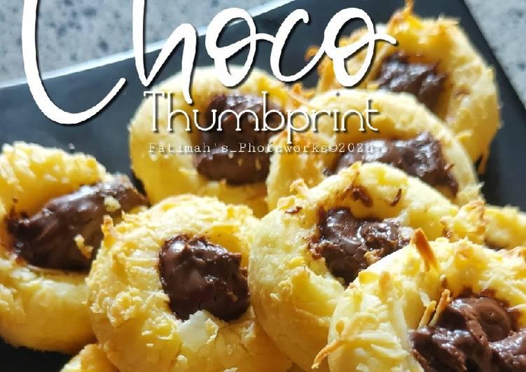 Choco Thumbprint