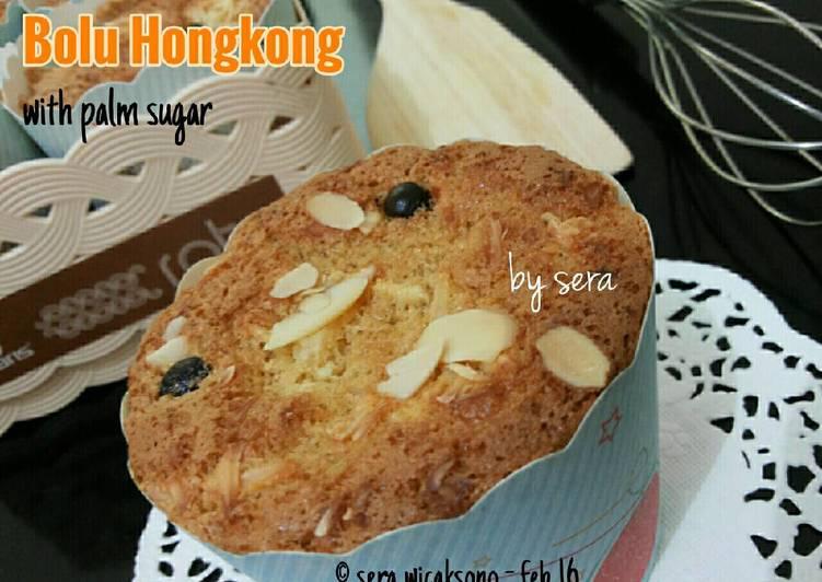 Bolu Hongkong with palm sugar