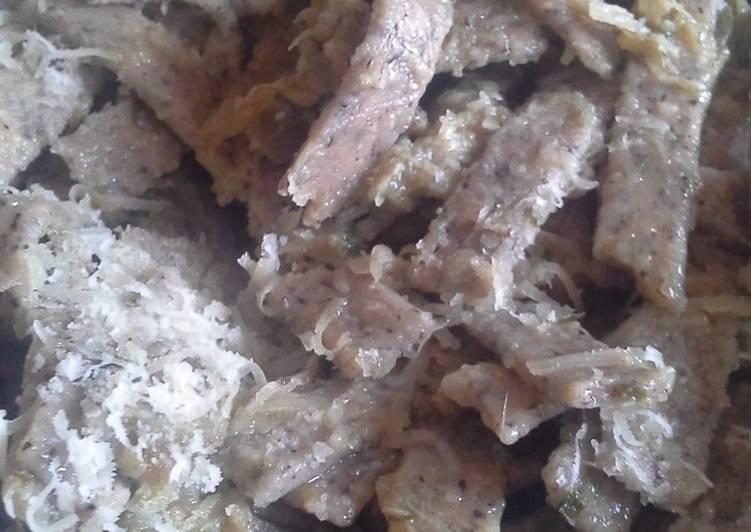 PASTA CON CARCIOFI (in questa ricetta come pasta ho utilizzato i pizzoccheri)