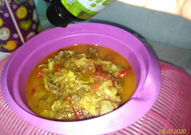 Tongseng Kambing Pencegah Covid-19 - cookandrecipe.com
