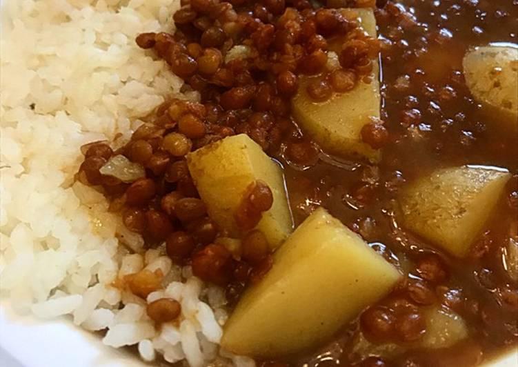 Recipe: Perfect Potato Lentil Curry