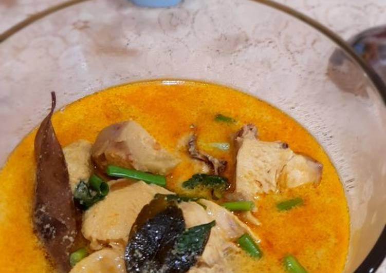 Resep Mudah Opor Ayam kunyit Gampang Banget