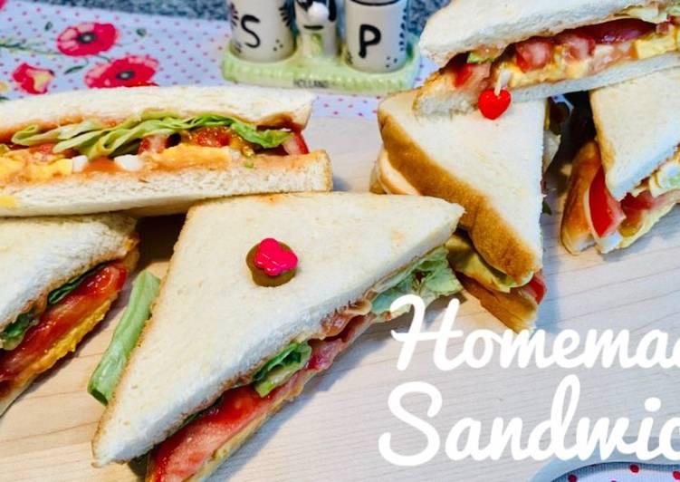 Homemade Sandwich 🥪
