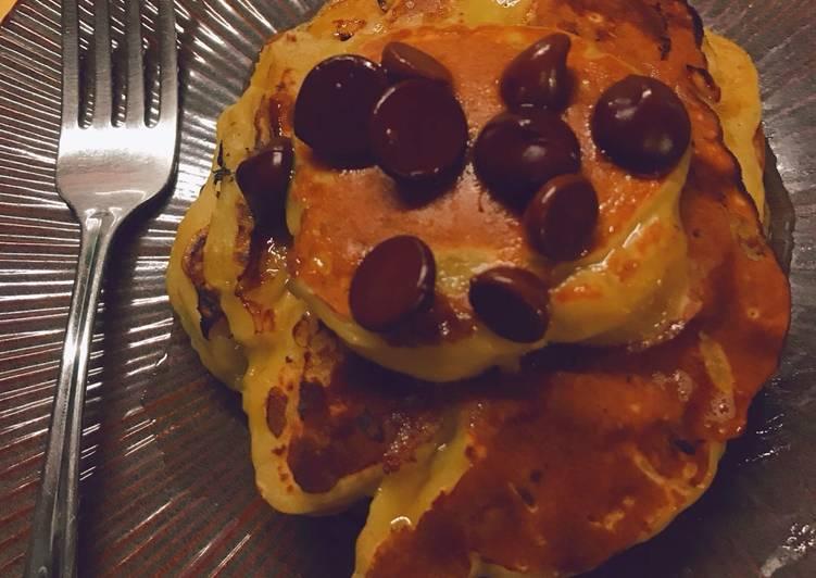 Recipe of Super Quick Homemade Simple Banana Pancakes