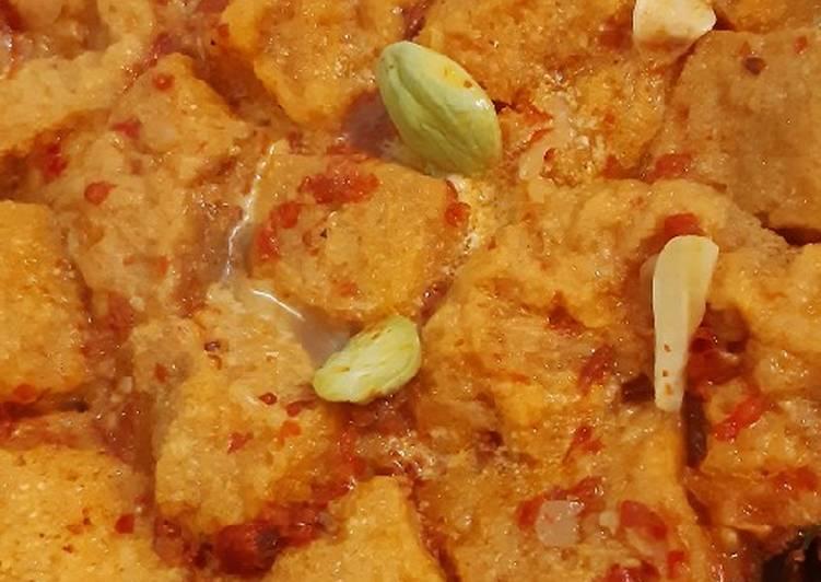 Sambel goreng krecek (bisa pakai daging bulat)