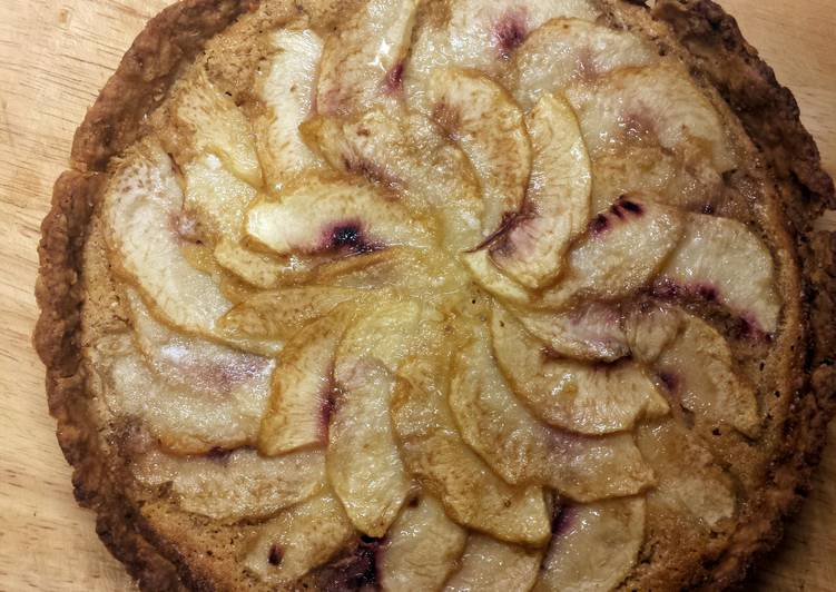 Almond Peach Tart