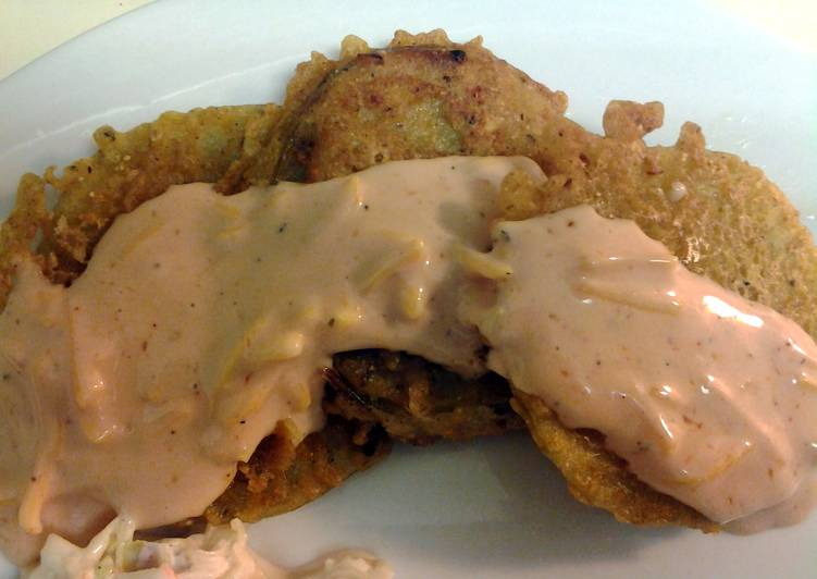 Fab fried green tomatoes