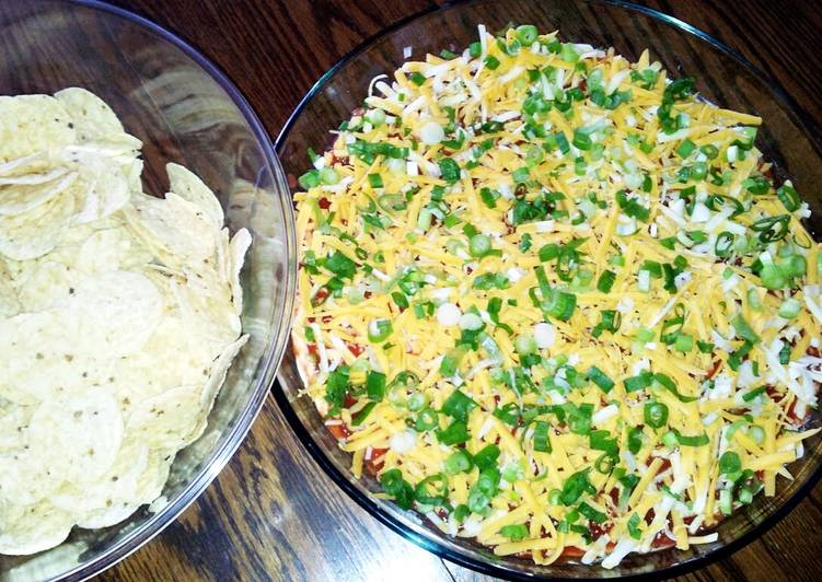 "Simple Way to Make Super Quick Homemade ""Party Nacho Dip"""