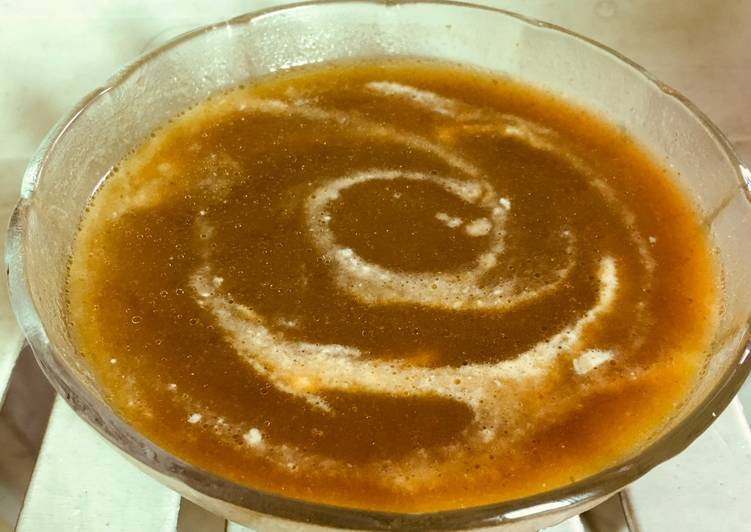 Coriander carrot tomato soup, Help Your Heart with Food