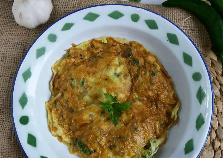Telur Dadar Lombok Ijo