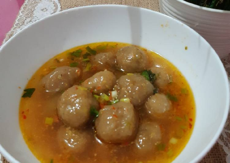 Baso Aci Kuah Pedes Asem Gluten Free Non MSG