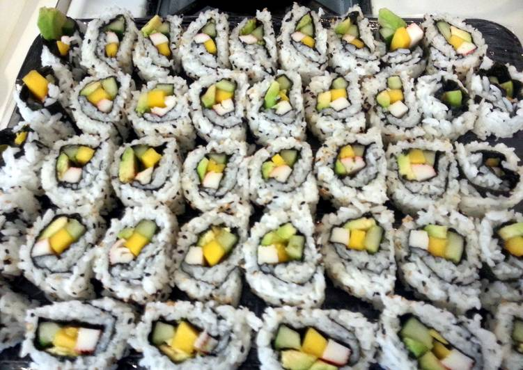 Easiest Way to Make Super Quick Homemade California Roll