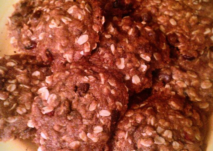 Recipe Tasty Cranberry-Chocolate Chip Oatmeal Cookies