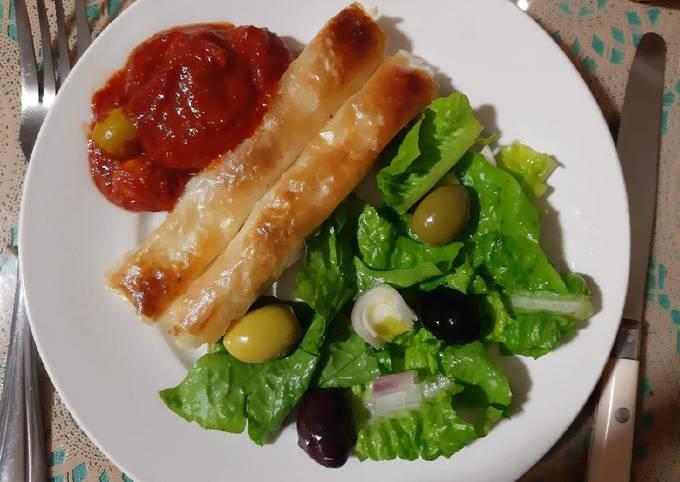Börek turc a la pommes de terre fromage persil 🍴