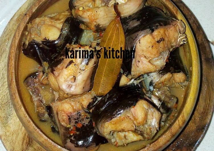 Easiest Way to Prepare Speedy Catfish pepper soup