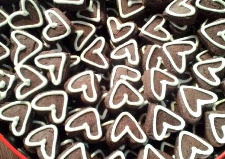 Kue coklat (love)