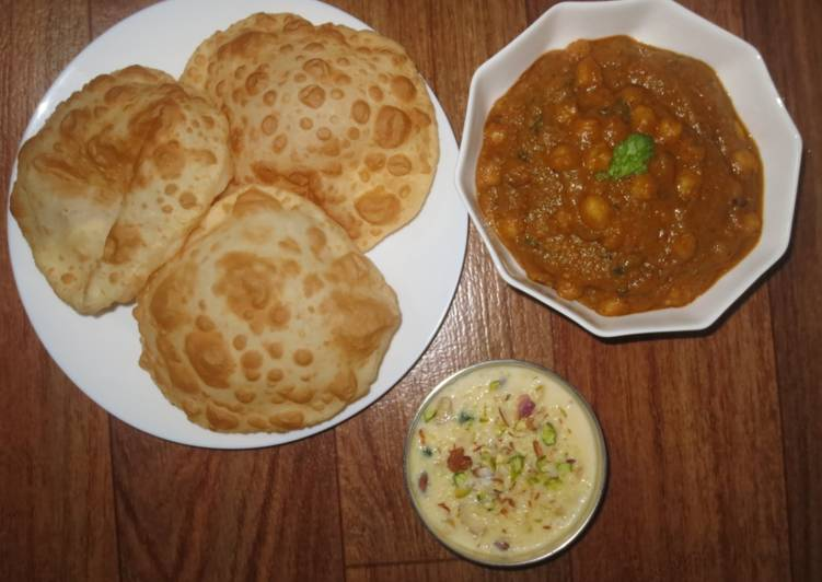 Top 100 Dinner Ideas Fall Chole bhatura with Rice kheer