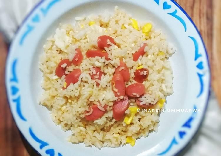 Nasi Goreng Sosis Simpel Praktis #402²¹