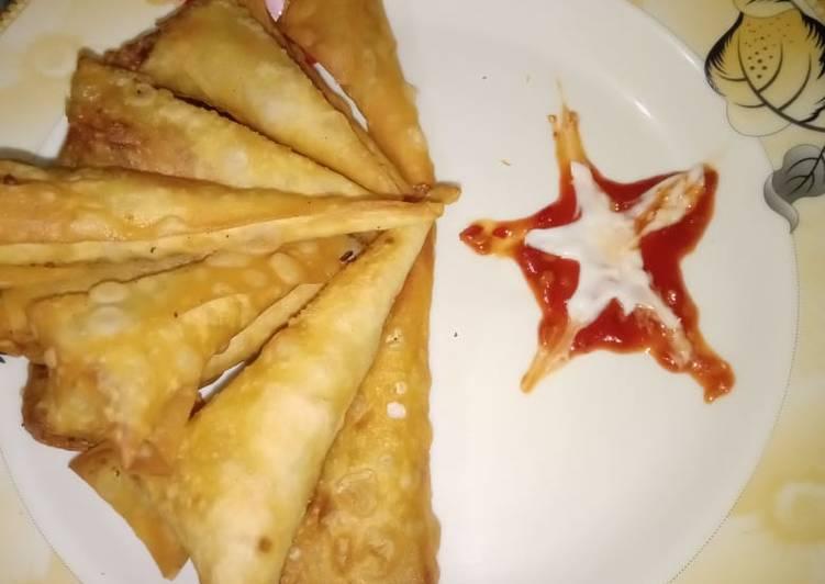 Chinese Samoosa cone...🌹