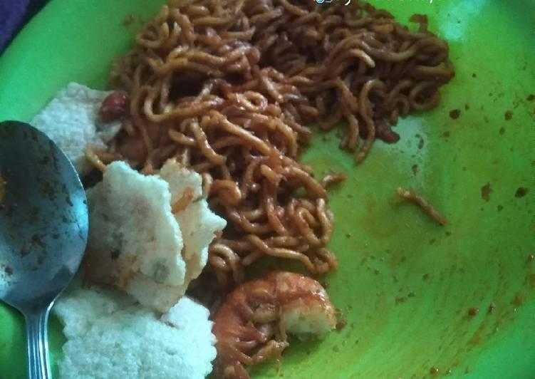 Indomie goreng Aceh super pedas