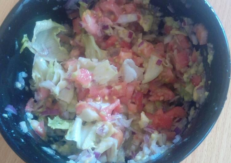 Recipe of Speedy Guacamole Salad
