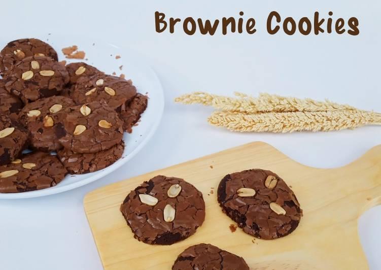 Brownie Cookies - cookandrecipe.com